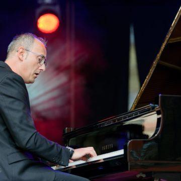 Il pianista compositore Pasquale Stafano al Krakow Summer Festival di Cracovia. Foto di Domenico Iannantuono